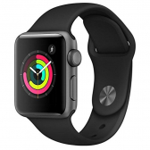Apple Watch S3 Gps Mtey2Ll/a 38Mm Cor Black - Mkp000696000001