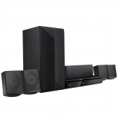 Home Theater Blu-Ray 3D Lhb625M Full Hd 5.1 Canais Bluetooth Lg Bivolt - Mkp000335003402