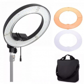 Iluminador Led Ring Light 18 Circular 240 50W Lorben Gt719 - Mkp000301000615