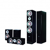Kit Home Theater 5.0 Cx. Acústicas Mod. Qx900 Pure Acoustics - Mkp000107000041