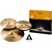 Kit Pratos Stagg Axk-Set Com Hi-Hat 14