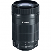 Lente Ef 55-250Mm F/4-5.6 Is Stm Preto Canon - Mkp000335004760