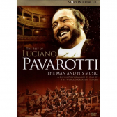 The Best Of Luciano Pavarotti The Man And His Music - Dvd - Mkp000315009195