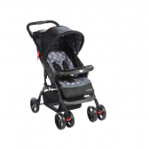 Travel System Moove Cinza Trama - Cosco - Mkp000327000271